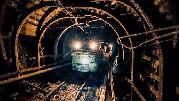 Обесточивание шахты на Луганщине