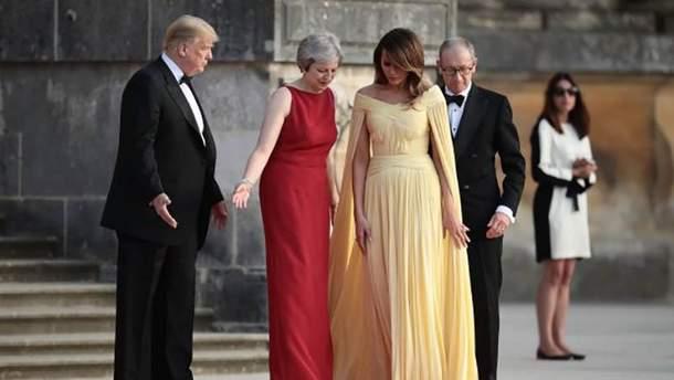 Образ Меланії Трамп порівняли з принцесою Діаною: неймовірна схожість (фото)