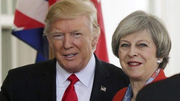 Тереза Мей заявила, що Трамп радив їй судитися з ЄС