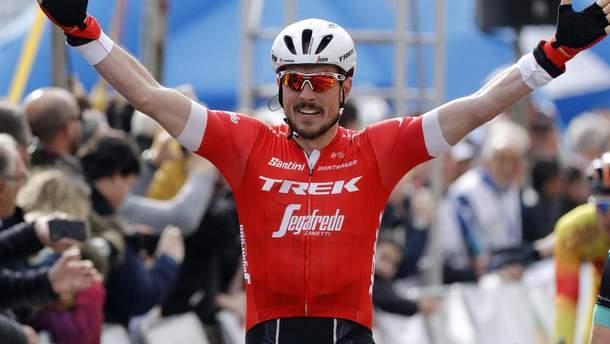 Джон Дегенкольб переміг на дев'ятому етапі Tour de France-2018