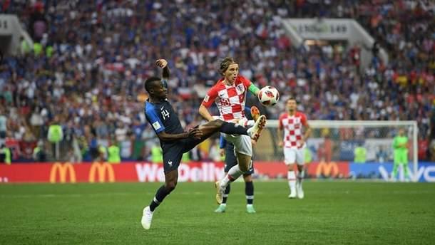 Матч між збірними Хорватії та Франції перервали учасники Pussy Riot