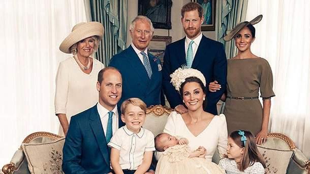 Крестины принца Луи: официальные фотографии