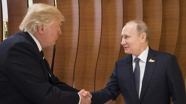 Трамп і Путін поділилися очікуваннями від спільної зустрічі