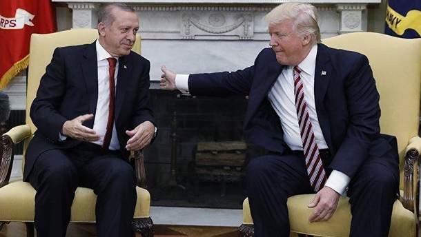 Перед встречей с Путиным Трамп разговаривал с Эрдоганом