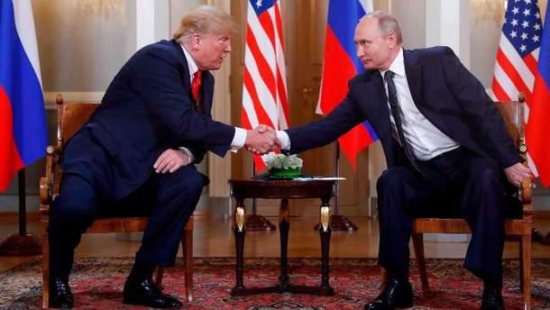 Трамп прокомментировал личную встречу с Путиным