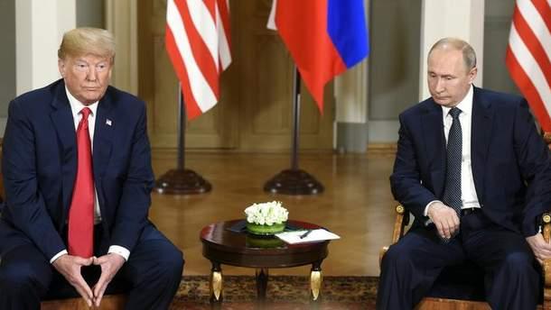 Трамп і Путін під час зустрічі обговорили українське питання
