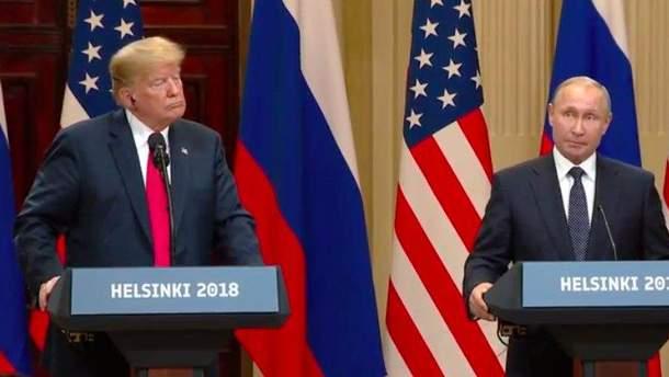 Путин и Трамп провели первые двусторонние переговоры