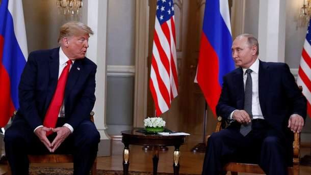 Трамп і Путін обговорили втручання Росії у президентські вибори в США