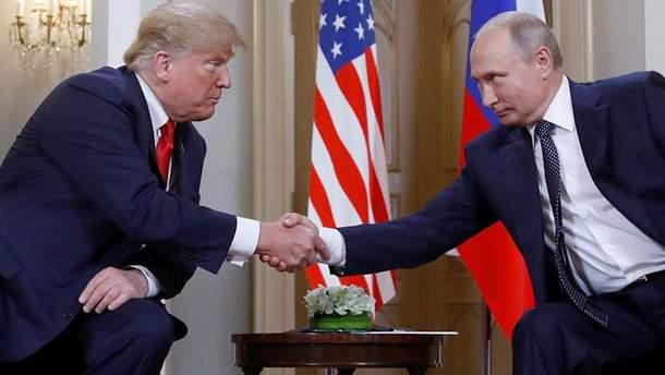 Трамп прокоментував розмову з Путіним