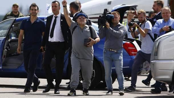 Дієго Марадона прибув у Білорусь