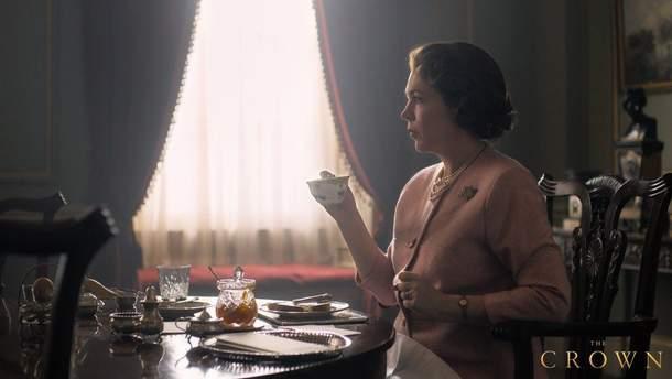 """Олівія Колман в ролі Єлизавети II в третьому сезону серіалу """"Корона"""""""