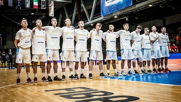 Збірна України U-20 з баскетболу