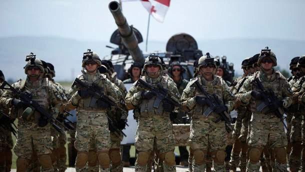 В Грузии начинаются военные учения