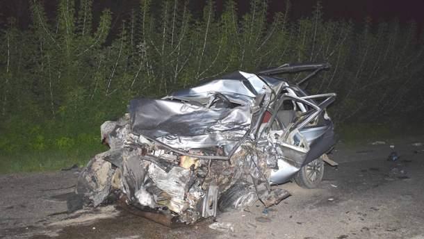 В Винницкой области произошла смертельная авария