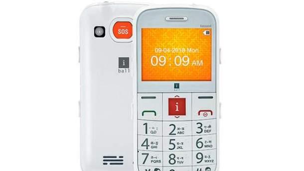 iBall представила новий кнопковий телефон
