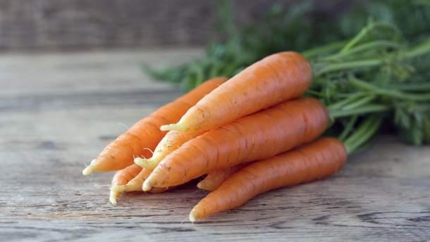 Морква знижує ризик раку та покращує зір