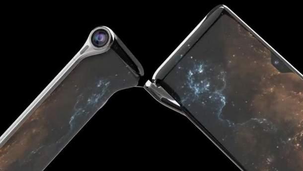 """Смартфон HubblePhone получит 3 экрана и камеру-""""телескоп"""""""