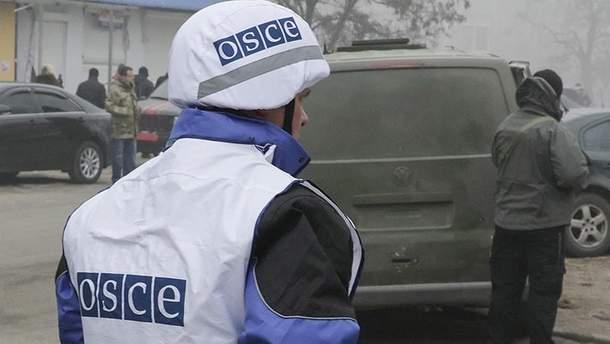 СММ зафиксировала накопление тяжелого вооружения пророссийских боевиков