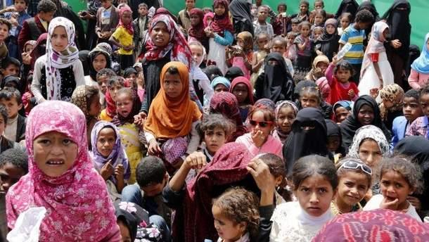 Йеменские беженцы