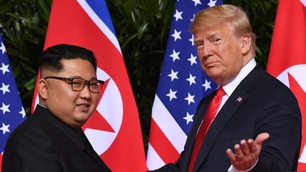 Трамп хочет вновь встретиться с Ким Чен Ыном
