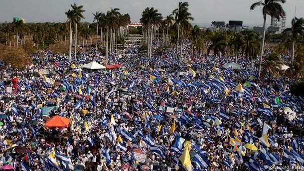 Протесты в Никарагуа