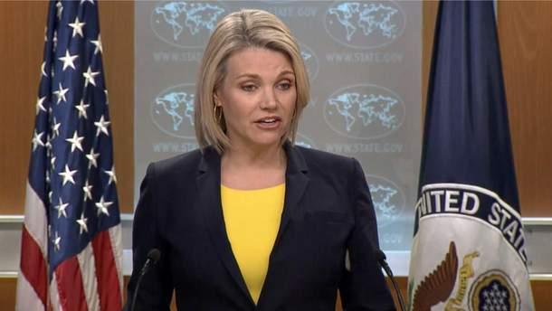 """В Госдепе США призвали Россию прекратить свое """"безрассудное поведение"""""""