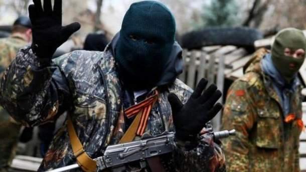 В оккупированной Горловке боевики обстреляли подростков
