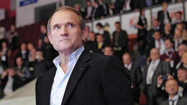 Медведчук имеет статус свидетеля по делу Савченко и Рубана