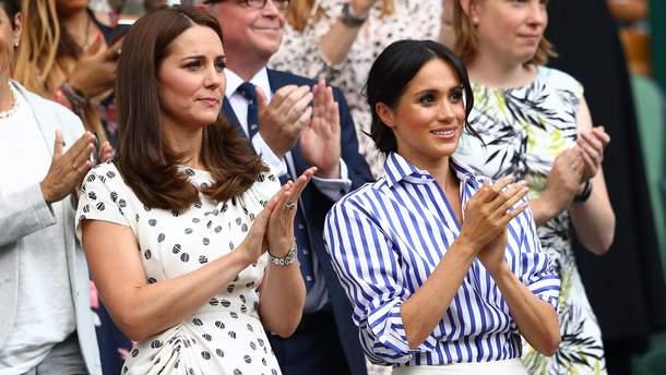 Меган Маркл і Кейт Міддлтон – найстильніші британці 2018 року