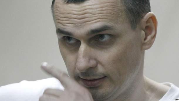 Олег Сенцов голодает 81-й день
