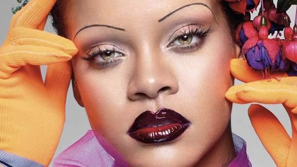 Рианна на обложке Vogue