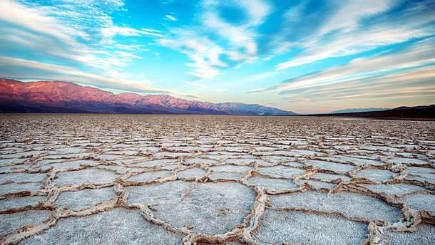 В Долине Смерти зафиксировали рекордную среднемесячную температуру