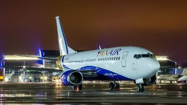 У авиаперевозчика украинских туристов обнаружили технические проблемы