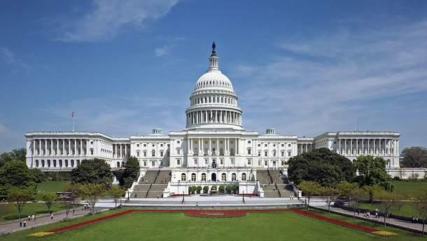 Біля будівлі Конгресу США виявили припарковане авто зі зброєю та набоями