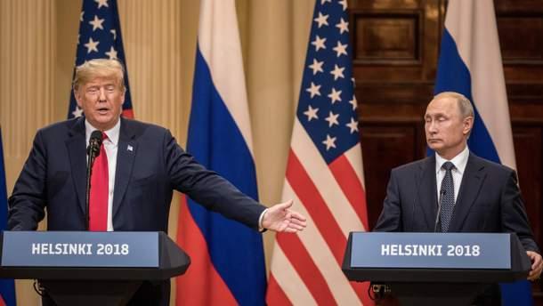 Трамп опять отметил пользу от его встречи с Путиным