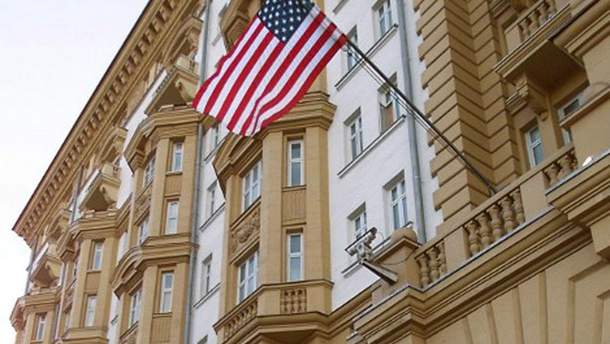 Російську шпигунку виявили у посольстві США в Москві