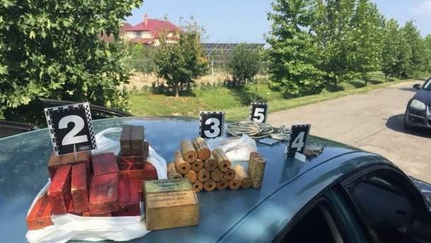 На Закарпатье СБУ разоблачила военнослужащих, которые продавали взрывчатку
