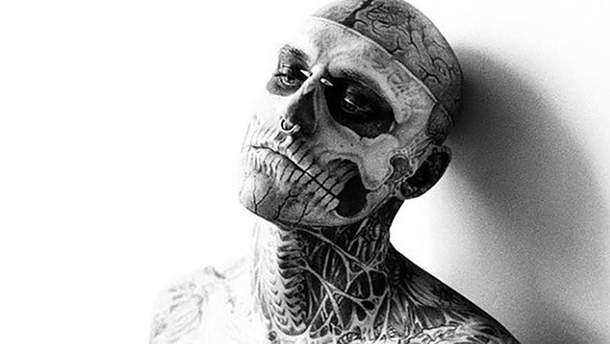 Помер Зомбі Бой (Zombie Boy) – відомий манекенник Рік Дженест