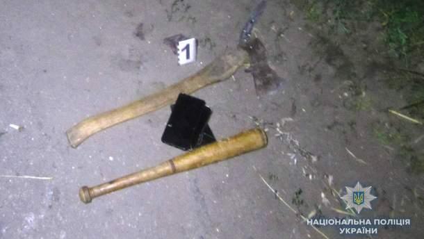Двоє росіян здійснили напад на місцевих під Києвом