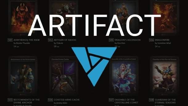 Гра Artifact від розробників Dota 2