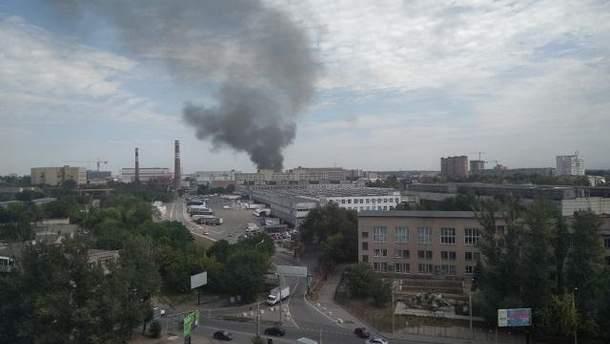 Пожежа в Ростові на Дону 3 серпня 2018: горить завод Ростсільмаш