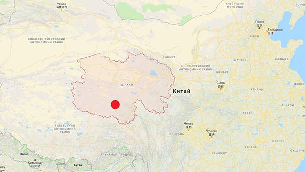 Землетрус магнітудою 5,1 стався у Китаї