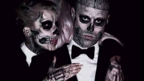 Zombie Boy и Леди Гага: зрелищный клип Born This Way с участием Рика Дженеста
