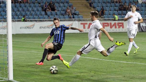 Зоря – Чорноморець відео голів матчу УПЛ 4 серпня