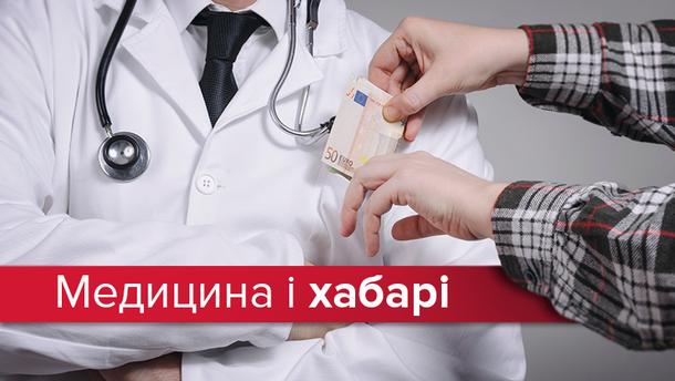 У 15% украинцев требовали взяток за медицинские услуги