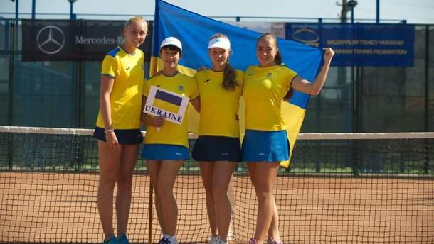 Сборная Украины по теннису U-16