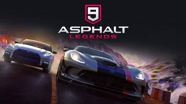 Гра Asphalt 9: Legends на Android та iOSпідкорила мільйони користувачів