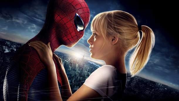 Человек-паук и Гвен Стейси в экранизации комиксов Marvel