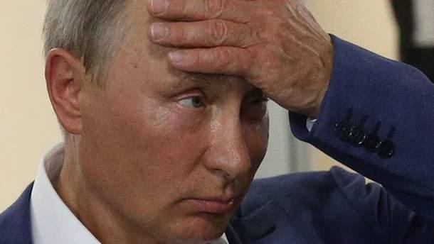 Володимир Путін і його партія стрімко втрачають довіру росіян