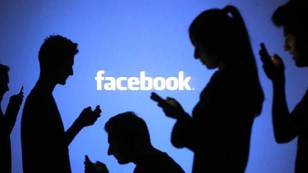 У роботі Facebook трапився збій